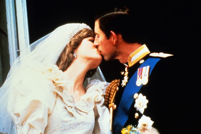 **1981: Prince Charles and Lady Diana** <br><br> Their iconic royal wedding took place July 29. David and Elizabeth Emanuel designed the fabulous wedding dress.