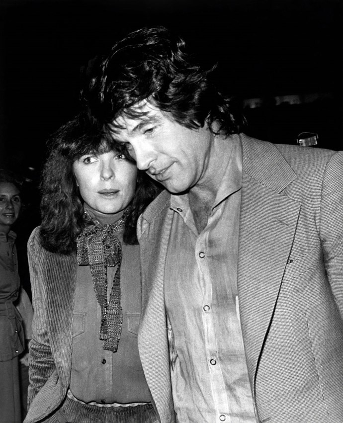 "**1978: Diane Keaton and Warren Beatty** <br><br> *[People magazine](https://urldefense.proofpoint.com/v2/url?u=http-3A__www.people.com_people_archive_article_0-2C-2C20072966-2C00.html&d=CwMFaQ&c=B73tqXN8Ec0ocRmZHMCntw&r=_lVDcfhZeapwSNppss3VUg6RNC_xa8WGYq9yIby-ylo&m=HuY0LgaI-eG2rK-xBPQ1ldVsU40jQw5ngoA0lLO1J8E&s=uvLShnUbLAC6c0hWn5qHC7Xua1nyf9SAhghiZDCWM9M&e=|target=""_blank""