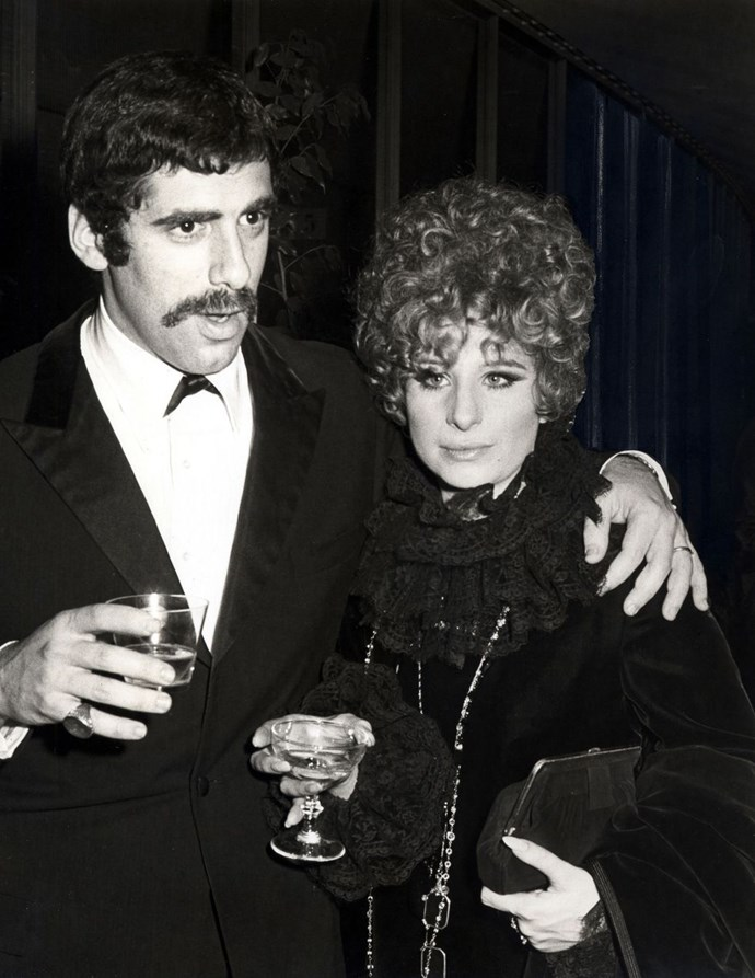 **1970: Barbara Streisand and Elliot Gould** <br><br> Fresh off the success of *Funny Girl* and *Hello, Dolly!* Barbra Streisand was a bona fide star by 1970, but this was a big year for her then husband, Gould, who stared in *M.A.S.H.*, one of the highest-grossing movies of the decade.