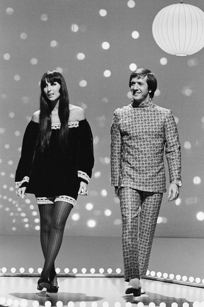 "**1965: Sonny and Cher** <br><br> In 1965, Sonny and Cher released their anthem to true love, ""I Got You Babe."" The song hit no. 1 on the Billboard charts, so maybe, in the end, their love could pay the rent."