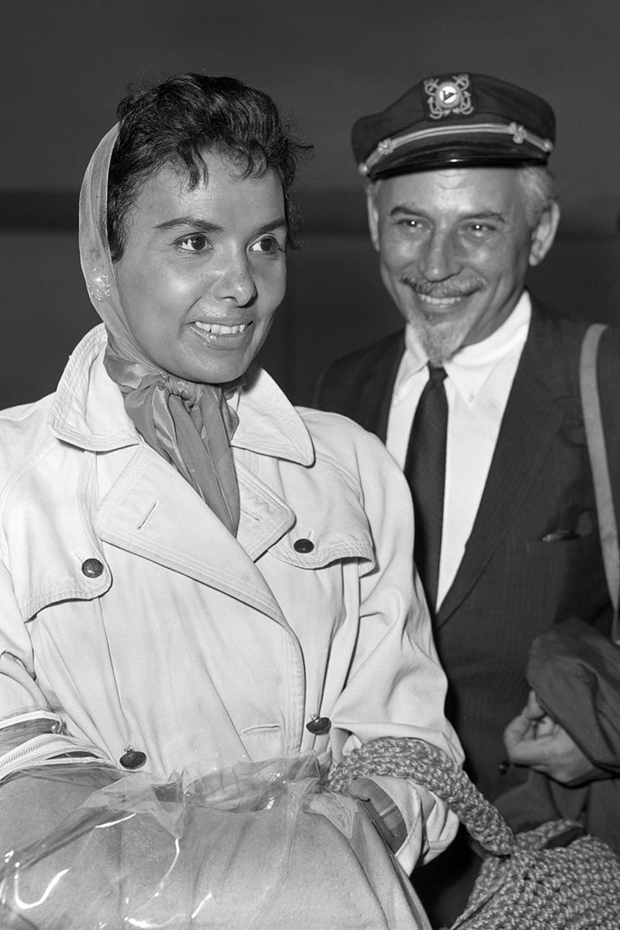 "**1962: Lena Horne and Lennie Hayton** <br><br> Lena Horne and Lennie Hayton were a perfect match. Her, an electrifying stage presence as an actress and singer; he, an award-winning musical director for major Hollywood studios. Hayton became Horne's musical director and in 1962, Horne released two albums: *Lena on the Blue Side* and *Lena…Lovely and Alive*. But things weren't as they seem — sort of. For one, they faced the challenges you'd expect interracial couples to face in the early 1960s. She later told *Ebony* in the magazine's May 1980 issue, ""You must know that in the beginning I didn't marry Lennie because I was in love with him. I respected him because he knew a lot of music and I knew that I had to learn how to sing. I callously realised that I would have to associate with a White person to get the things I wanted professionally."" That said, 'I learned to love him very much. It turned out to be a perfect marriage."""
