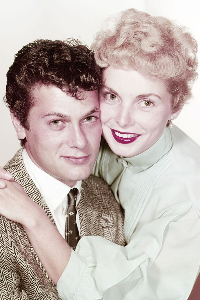 "**1952: Tony Curtis and Janet Leigh** <br><br> In Curtis's own words, he and Leigh were ""Hollywood's golden couple."" The parents of Jamie Lee Curtis eloped to everyone's surprise and stayed married for a decade before their divorce. ""I was very dedicated and devoted to Janet, and on top of my trade, but in her eyes that goldenness started to wear off,"" Curtis said in his 1993 memoir. ""I realised that whatever I was, I wasn't enough for Janet. That hurt me a lot and broke my heart."" He would marry five more times."