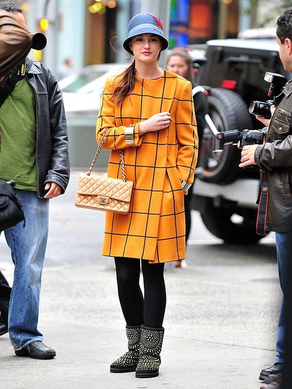 This jacket is weirdly very 2018 Balenciaga. Blair Waldorf, a streetwear champion.