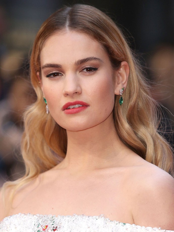 **Lily James**