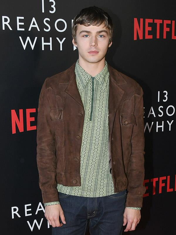 **Miles Heizer**  Despite fans outta Miles and co star Brandon Flynn, the actor who plays Alex is keeping his cards close to his chest when it comes to potential love interests.