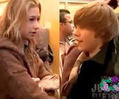 Adorable footage of teenage Justin Bieber and Hailey Baldwin meeting for the first time