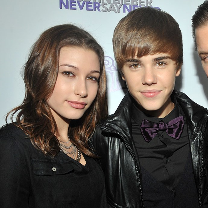 Justin and Hailey in 2011 (LOL).