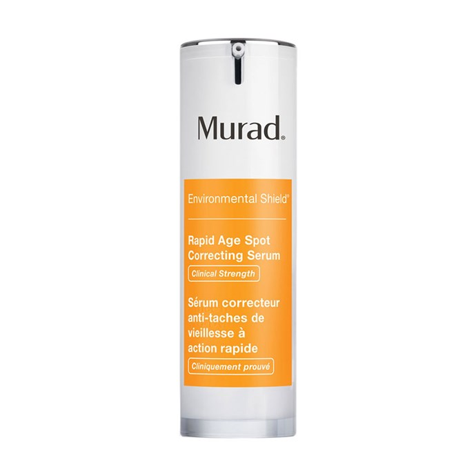 """**Murad Rapid Age Spot Correcting Serum, $105 at [Sephora](https://www.sephora.com.au/products/murad-rapid-age-spot-clearing-serum/v/default
