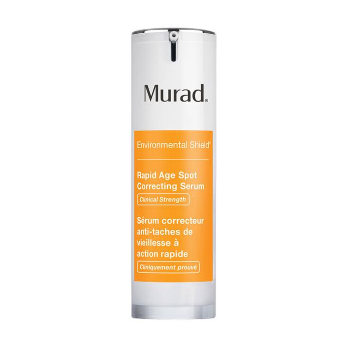 "**Murad Rapid Age Spot Correcting Serum, $105 at [Sephora](https://www.sephora.com.au/products/murad-rapid-age-spot-clearing-serum/v/default|target=""_blank""