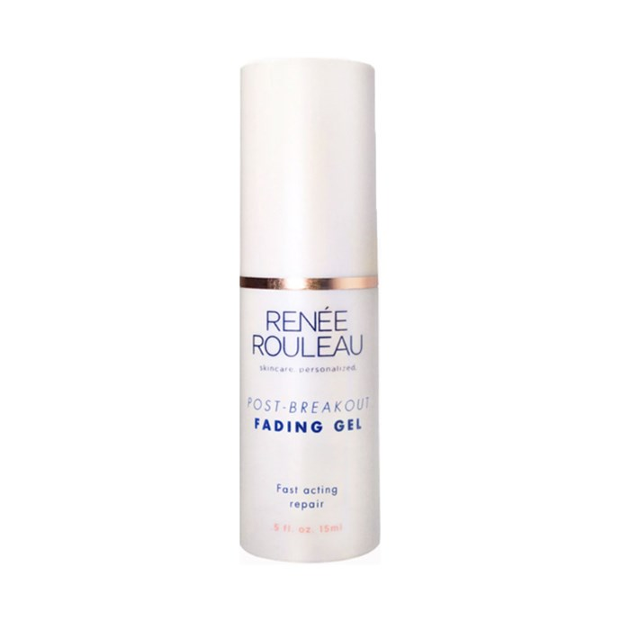 """**Renée Rouleau Post-Breakout Fading Gel, $55 at [Renée Rouleau](https://www.reneerouleau.com/products/post-breakout-fading-gel
