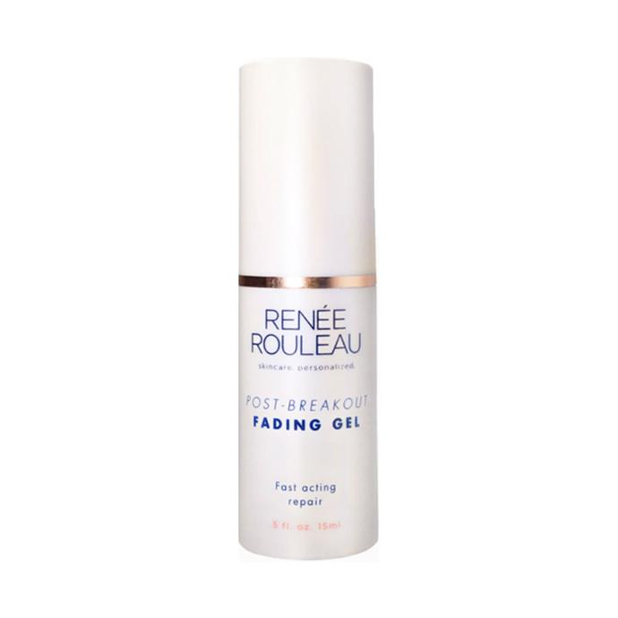 "**Renée Rouleau Post-Breakout Fading Gel, $55 at [Renée Rouleau](https://www.reneerouleau.com/products/post-breakout-fading-gel|target=""_blank""