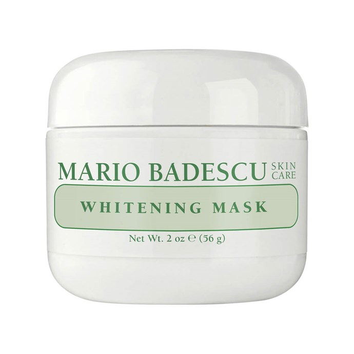 """**Mario Badescu Whitening Mask, $35 at [MECCA](https://www.mecca.com.au/mario-badescu/whitening-mask/I-004356.html