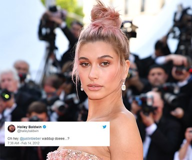 People are digging up Hailey Baldwin's old tweets about Justin Bieber and Selena Gomez