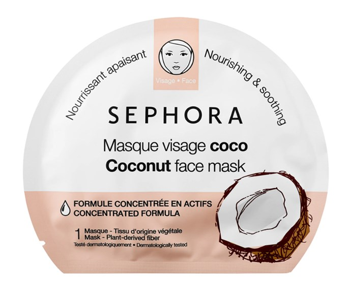 "**Sephora Coconut Face Mask, $6 at [Sephora](https://www.sephora.com/product/face-mask-coconut-P432067|target=""_blank""