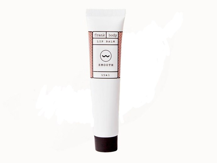 "**[Frank Body Lip Balm](https://www.frankbody.com/au/products/lip-balm/|target=""_blank""