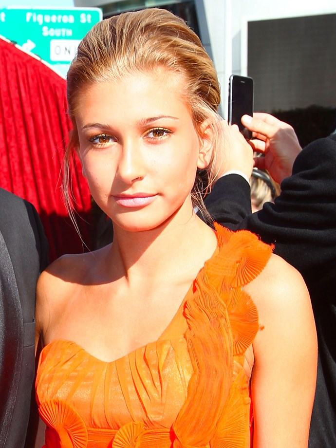 At the 2010 ESPY awards, HB rocked a bouffant-topped updo and golden eye shadow.