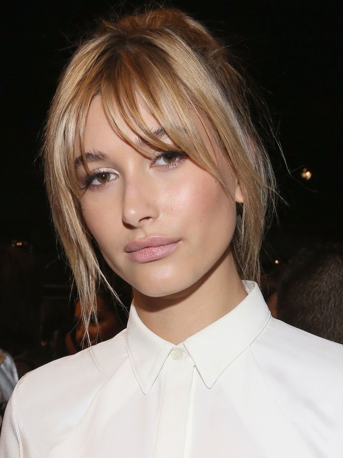 But not as much as we love the debut of Hailey's wispy bangs.