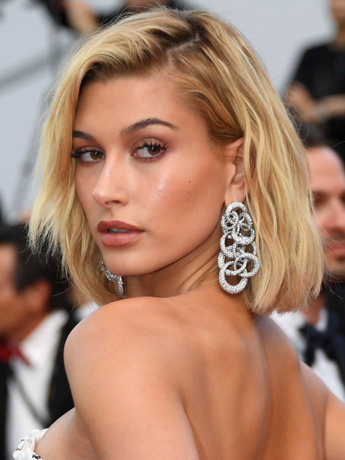 Hailey returns to the lob once more, and we're not one bit mad about it.