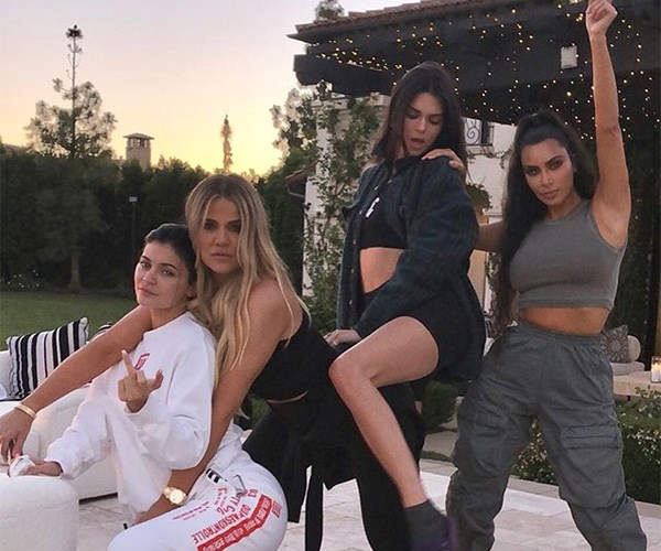 Kardashian family Instagram 2018