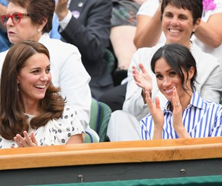 Meghan Markle and Kate Middleton went on a sister-in-law date to the tennis