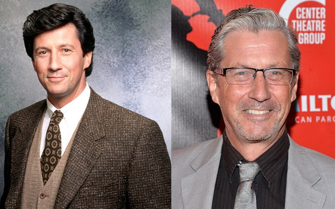 **CHARLES SHAUGHNESSY AKA MAXWELL SHEFFIELD**  OH MR SHEFFIELDDDD! You've still got it. At 63, Charles is a father of two daughters and is still happily married to his wife of 35 years, Susan. If his more grey-haired vibe looks familiar, it's probably because you glimpsed him on *Mad Men* as one of the head honchos at a British ad agency. The British actor has had plenty of regular TV appearances on shows like *Days of Our Lives* and, like Fran, has done several stints on the stage.