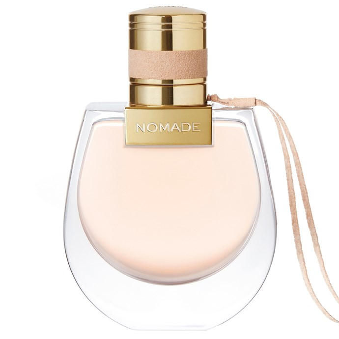 "**Chloé is at it again...** <br><br> This time with a bold new fragrance. Chloé Nomade EDP boasts light, fruity top notes, sexy white florals and spicy bottom notes that combined smell like a fun, exotic adventure. Spray liberally! <br><br> Chloé Nomade EDP, 50ml ($140 at [David Jones](https://www.davidjones.com/Product/21631750?istCompanyId=466a8370-6b00-4f27-87e1-ca6839e80dd6&istItemId=-xpqitaqwxw&istBid=t&gclid=EAIaIQobChMI8668vLyl3AIVCQQqCh1ToAuXEAQYASABEgJLC_D_BwE&gclsrc=aw.ds|target=""_blank""