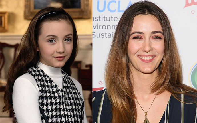 **MADELINE ZIMA AKA GRACE SHEFFIELD**  After playing the sassy youngest Sheffield sibling, Madeline has blossomed into a one-woman tour de force in the entertainment industry and even made her own film this year. The 32-year-old has some seriously impressive TV credentials, including recurring roles on *Californication* and the *Twin Peaks* reboot. And, of course, who could forget her as evil step-sister Brianna in the 2004 Hilary Duff bonanza, *A Cinderella Story*? Oscar-worthy.
