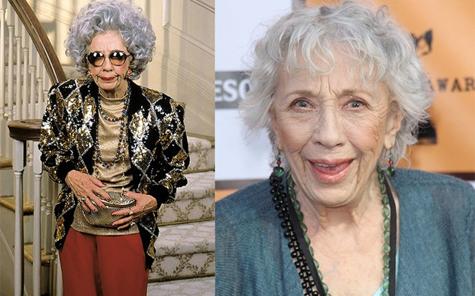 **ANN MORGAN GUILBERT AKA GRANDMA YETTA**  If you thought Fran's style was good, you were overlooking the real fashion icon of the show, Grandma Yetta. Sadly, Ann passed away in 2016 after a more than 50-year career that saw her appear in everything from *I Dream of Jeannie*, to *Seinfeld*, to *Grey's Anatomy*. RIP, legend.