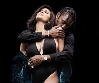 Kylie Jenner just shared some rather raunchy photos of her and Travis Scott