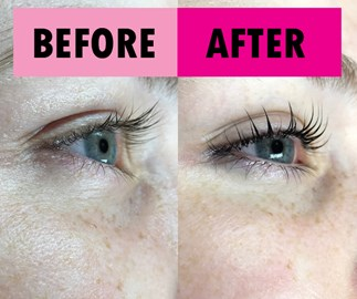COSMO roadtest: I got a lash lift for the first time, and here's what happened
