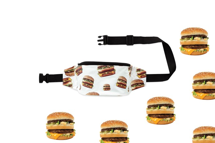 McDonald's Global McDelivery Day hipbags