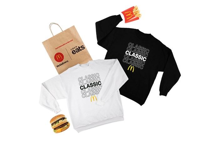 McDonald's Global McDelivery Day jumpers