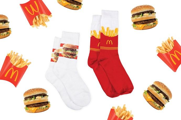 McDonald's Global McDelivery Day socks
