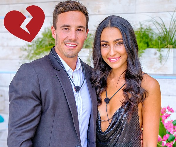 """**GRANT & TAYLA**  BROKEN UP. The franchise winners lasted a matter of days before dramatically splitting up and [trading barbs](https://www.cosmopolitan.com.au/celebrity/love-island-australia-grant-crapp-tayla-damir-trolling-27932