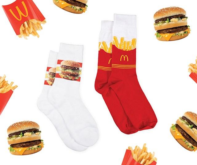 McDonalds 90s fashion line