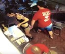 This waitress putting a guy in a chokehold for touching her is actual goals