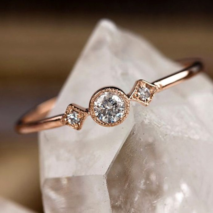 """**Cancer: Minimalist** <br><br> You're a firm believer of the 'less is more' mantra, which is why an understated ring is just what you're after. Forget the OTT styles, your style oozes class and elegance, like the minimalist ring.  <br><br> Image: [Pinterest](https://www.pinterest.com.au/pin/AaVJX4FkxGRlNQrqdkMbC7Eb1zv0WR1zxK7VcgZHCFcWCgqbv1_RUn0/ target=""""_blank"""" rel=""""nofollow"""")"""
