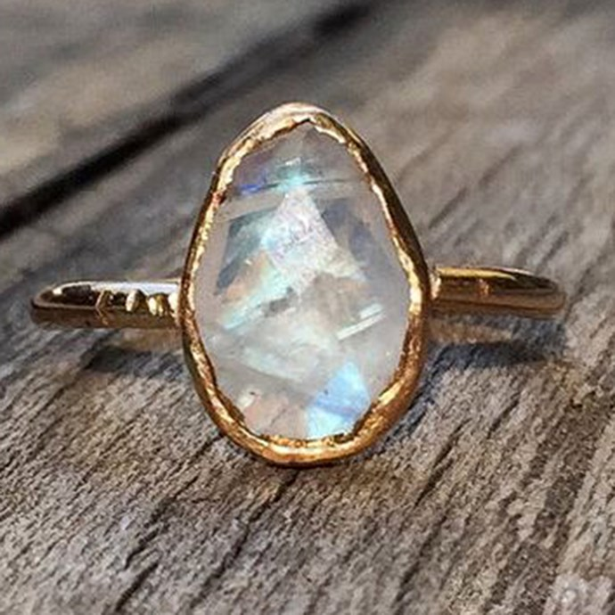 """**Libra: Non-Precious Stone** <br><br> You're never one to stick to the status quo. And if you're perfectly honest, your free spirit flourishes when you embrace your eccentric side. Screw diamonds, your engagement ring is all about the boho opals and moonstones. <br><br> Image: [Pinterest](https://www.pinterest.com.au/pin/556968678907864512/ target=""""_blank"""" rel=""""nofollow"""")"""