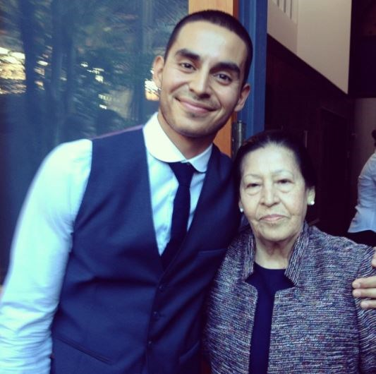 WITH HIS GRANDMA OH LORDY.  (Photo: Instagram)