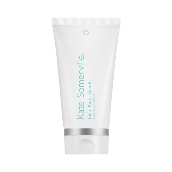 "Kate Somerville Exfolikate Gentle Exfoliating Treatment, $95 at [MECCA](https://www.mecca.com.au/kate-somerville/exfolikate-gentle-exfoliating-treatment/I-013677.html|target=""_blank""