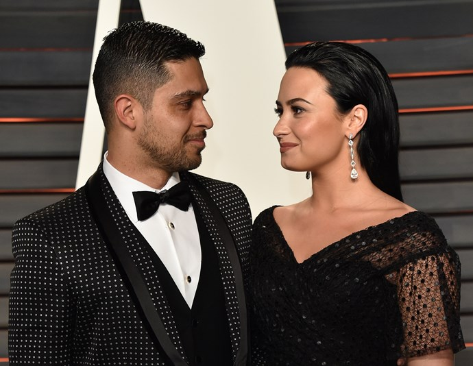 Wilmer and Demi at the 2016 Vanity Fair Oscars After-Party.
