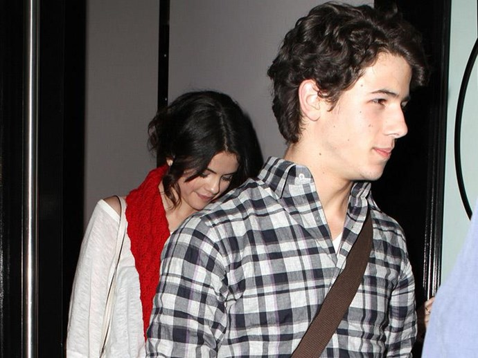 "**Selena Gomez: 2008**  Nick and [Selena](https://www.cosmopolitan.com.au/celebrity/selena-gomez-instagram-most-likes-27602|target=""_blank"") only dated for a few months and remains good friends today. Selena said of their romance: ""It was very sweet. He's lovely. I do have a love for him for sure."""