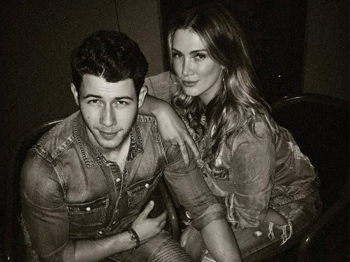 **Delta Goodrem: 2011**  In one of Nick's more unexpected romances, he linked up with Delta Goodrem, who is eight years his senior, for a whole year in 2011. He was 18 at the time. Now, Delta is a judge on *The Voice* alongside Nick's brother Joe and they can all laugh about it. Plus, eight years' age difference has nothing on his 11-year gap with Priyanka.