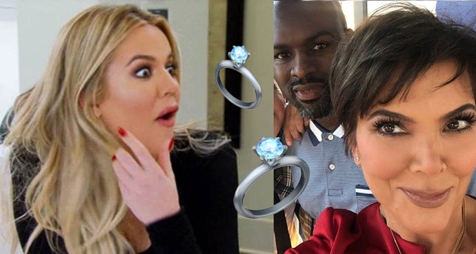 Hold up, is Momager Kris Jenner engaged?!