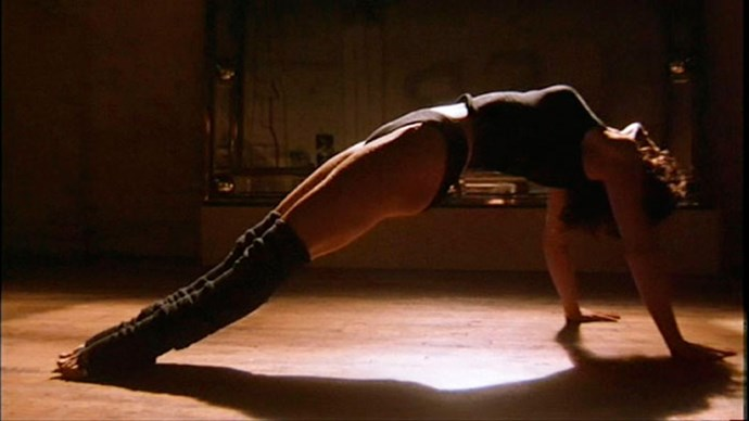 **1983: Legwarmers** <br><br> Image: *Flashdance*, 1983