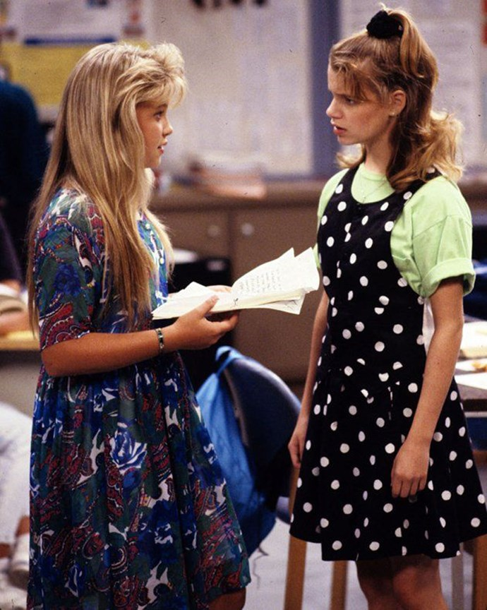 **1987: Scrunchies** <br><br> Image: *Full House*