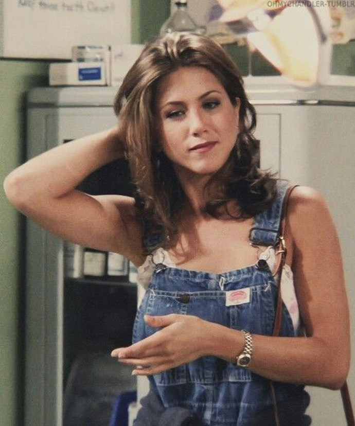 **1992: Overalls** <br><br> Image: *Friends*, 1992