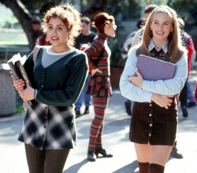 **1995: Plaid Skirts** <br><br> Image: *Clueless*, 1995