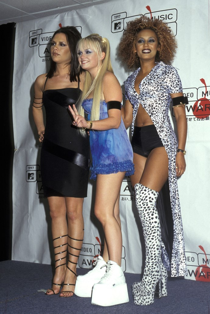 **1994: Platform Shoes** <br><br> Image: The Spice Girls, 1994
