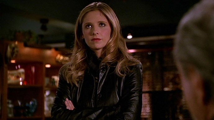 **1997: Leather Jackets** <br><br> Image: *Buffy The Vampire Slayer*, 1997